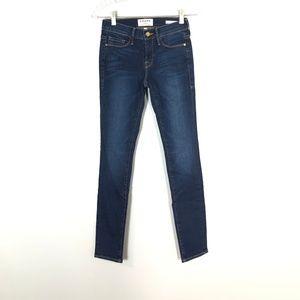 FRAME Denim Le Skinny De Jeanne Jeans   Size: 25